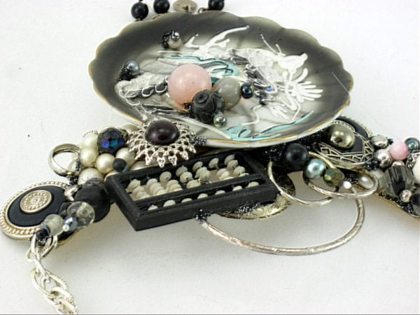 Abacus Dragonware Art Couture Necklace