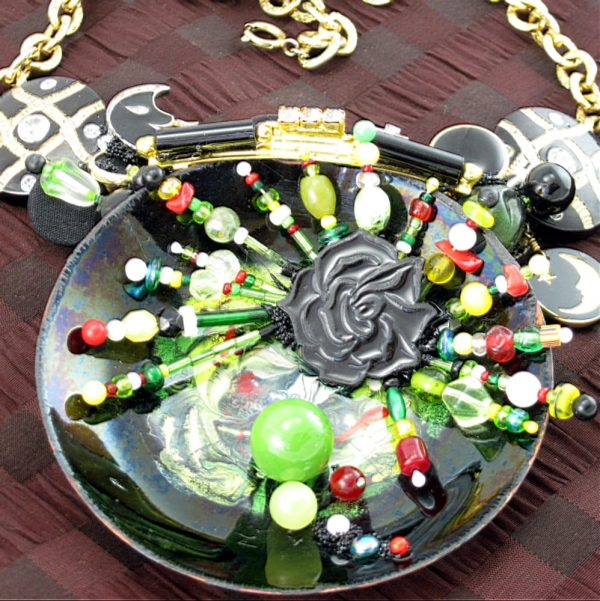 Celestial Starburst Couture Necklace