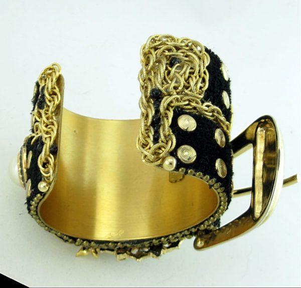 Fashion Functional Buckle Cuff