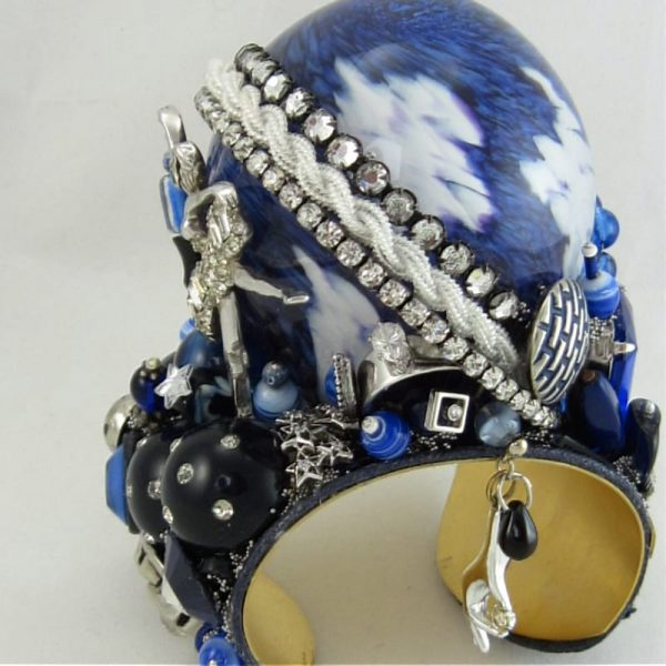 Ballerina Blue Globe Structural Art