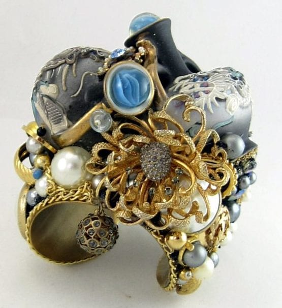 Double Dragonware Bottle Couture Cuff