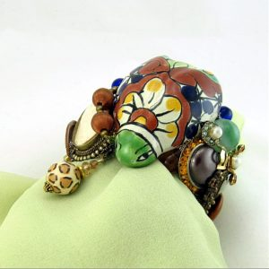 Telavara Lady Bug Couture Cuff