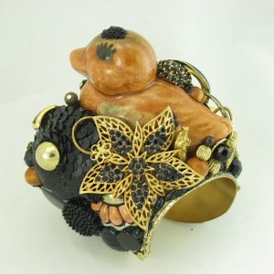Caramel Duck Goddess Couture Cuff