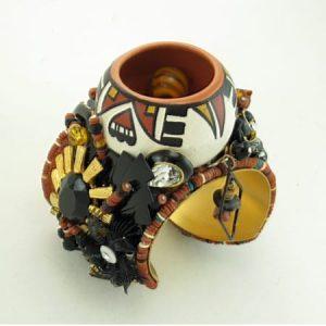 Pueblo Pot Bracelet Cuff