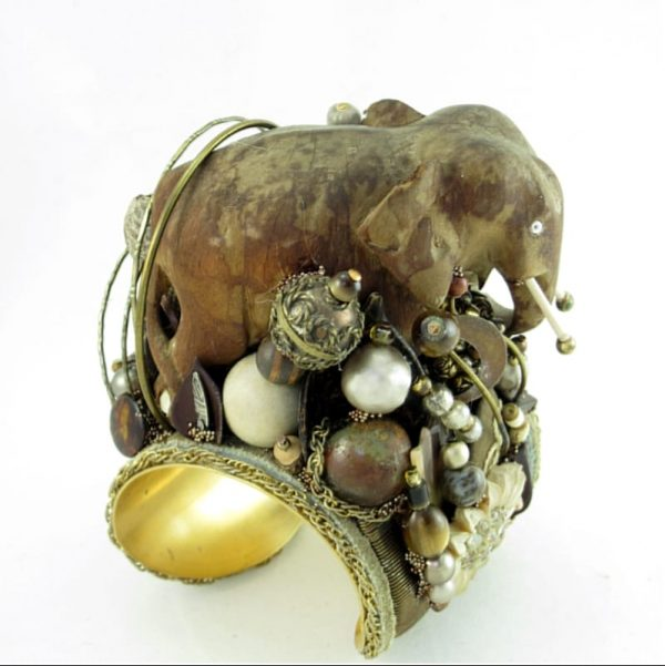 Weathered King Art Couture Cuff