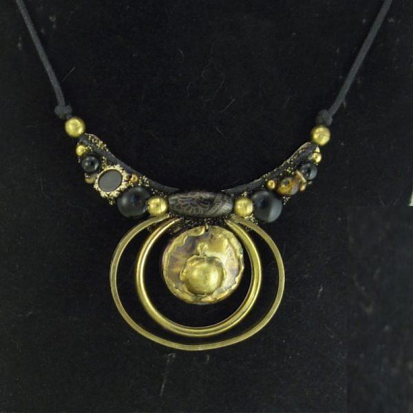 Dragon Eye Art Necklace