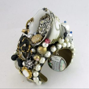 Dragon Ware Art Couture Cuff Jewelry