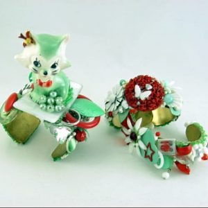 Vintage Cuff Collection | HERE KITTY KITTY Mini I & II Companion Set