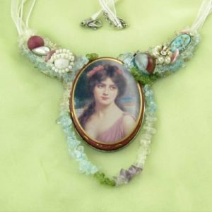 Peaceful Beauty Necklace | Art Couture Creations