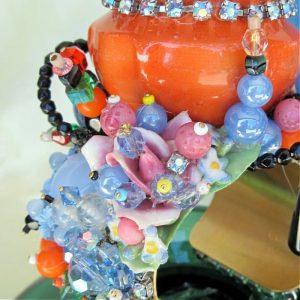 Sculptural Art Couture Garden Cuff