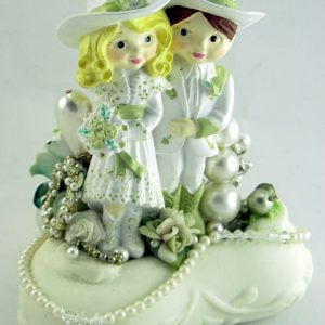 Western Wedding Custom Cake Topper