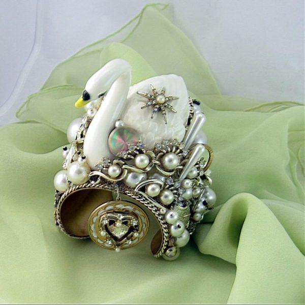 White Swan Couture Cuff II