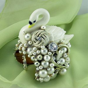 White Swan Couture Cuff I