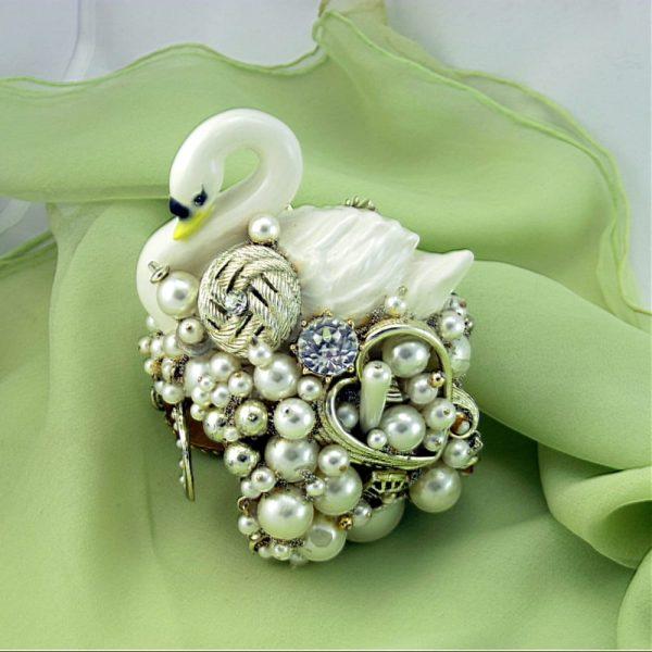 White Swan Couture Cuff I