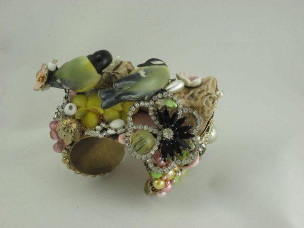 Goebel Bird Pair Cuff